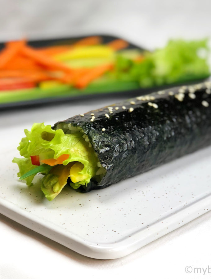 Овощной кимпаб